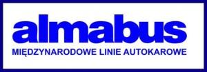 almabus logo, autokary do szwajcarii