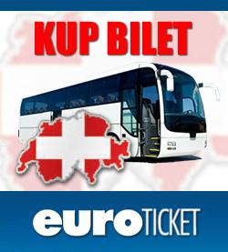 bilety autokarowe Euroticket, autokar do szwajcarii