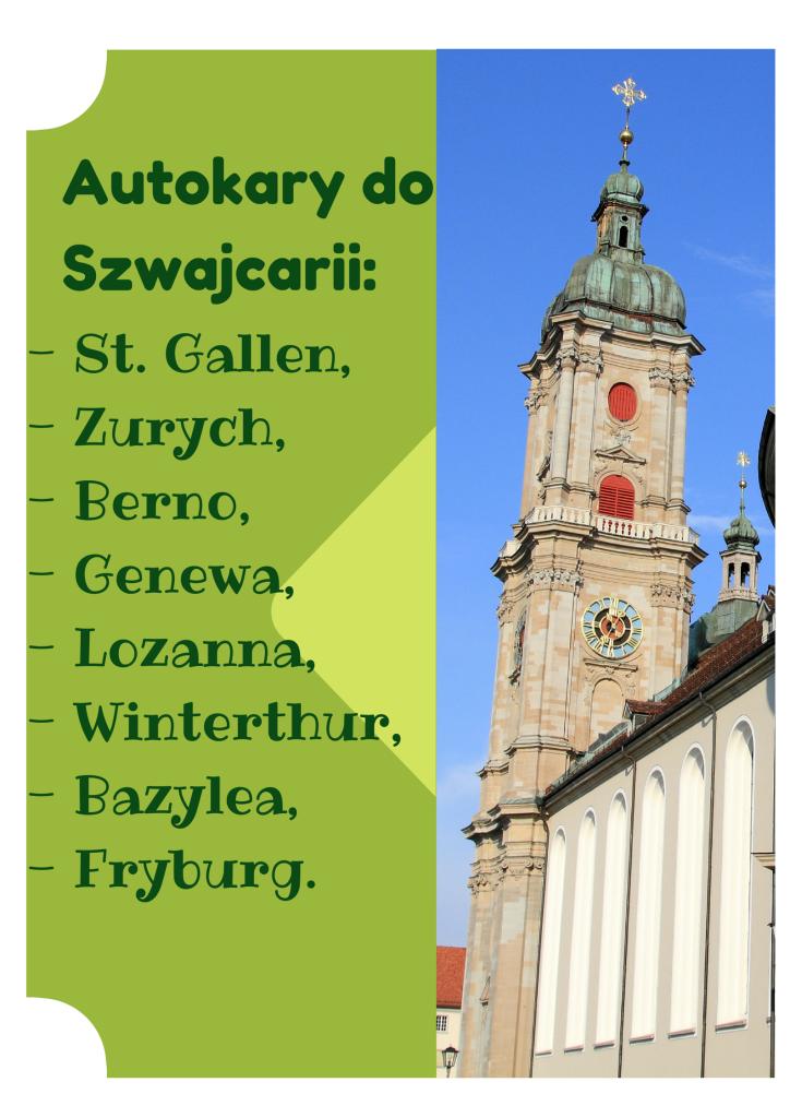 autokary do st. gallen, tanie bilety online